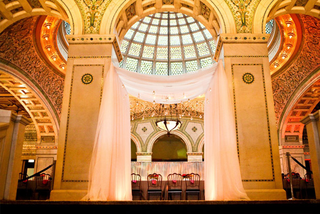 Chicago Cultural Center Oprah Bride