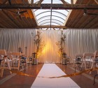 Loft on Lake Civil Union Decor