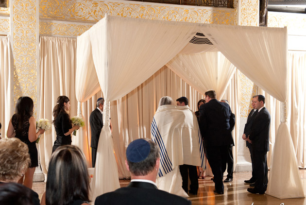 jewish ceremony decor