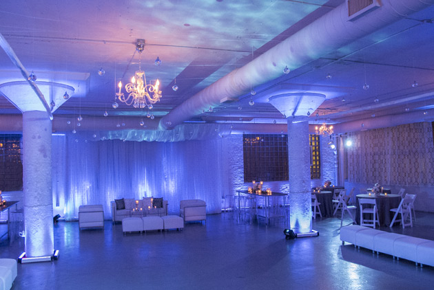 Room 1520 corporate holiday party decorart of imagination for All white party decoration ideas