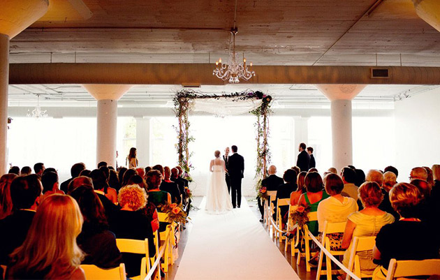 Room 1520 Wedding chuppah