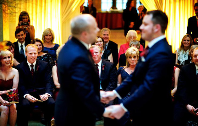 Rookery Building Wedding by Kevin Weinstein