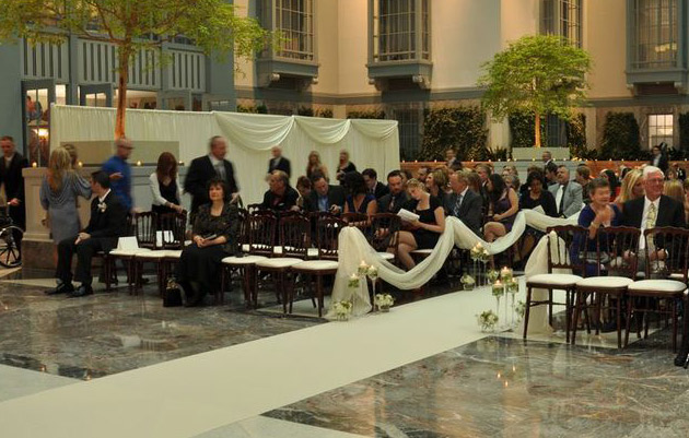 Harold Washington Center Wedding